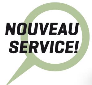 Nouveau service