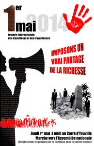 Affiche 1er mai 2014
