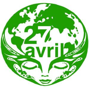 manif pour la terre logo