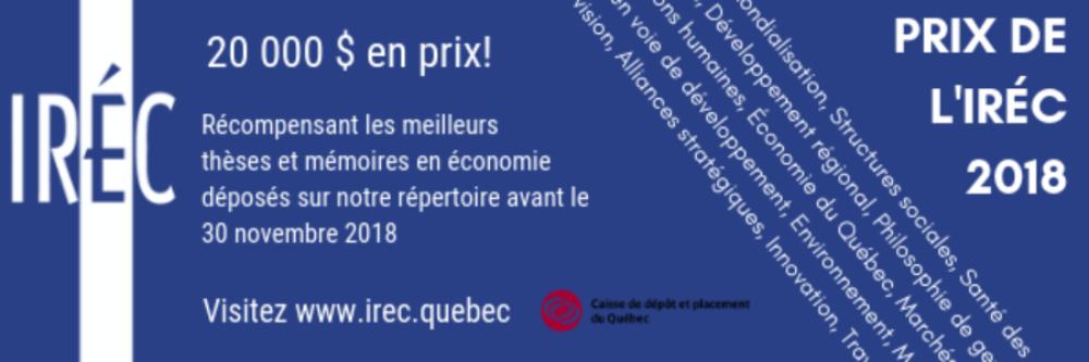 Prix IREC 2018